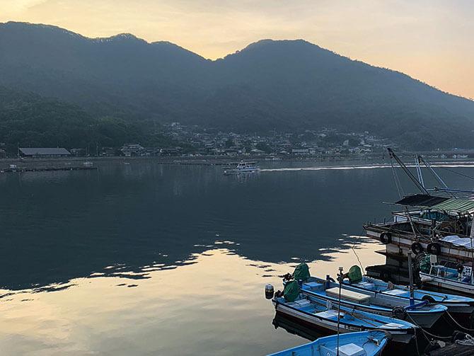 瀬戸内海での魚釣り